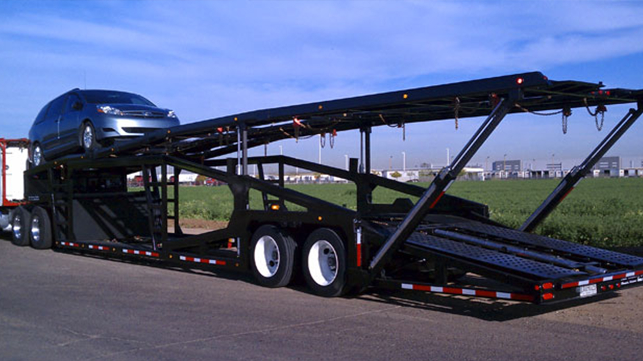 48 foot, High Mount, 5 Car Hauler - SunCountry Trailers
