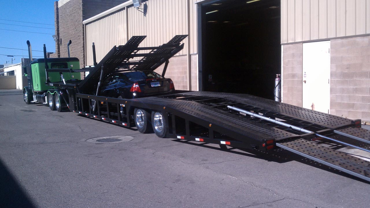 53 Foot Next Generation Modified 4 Car Hauler Suncountry