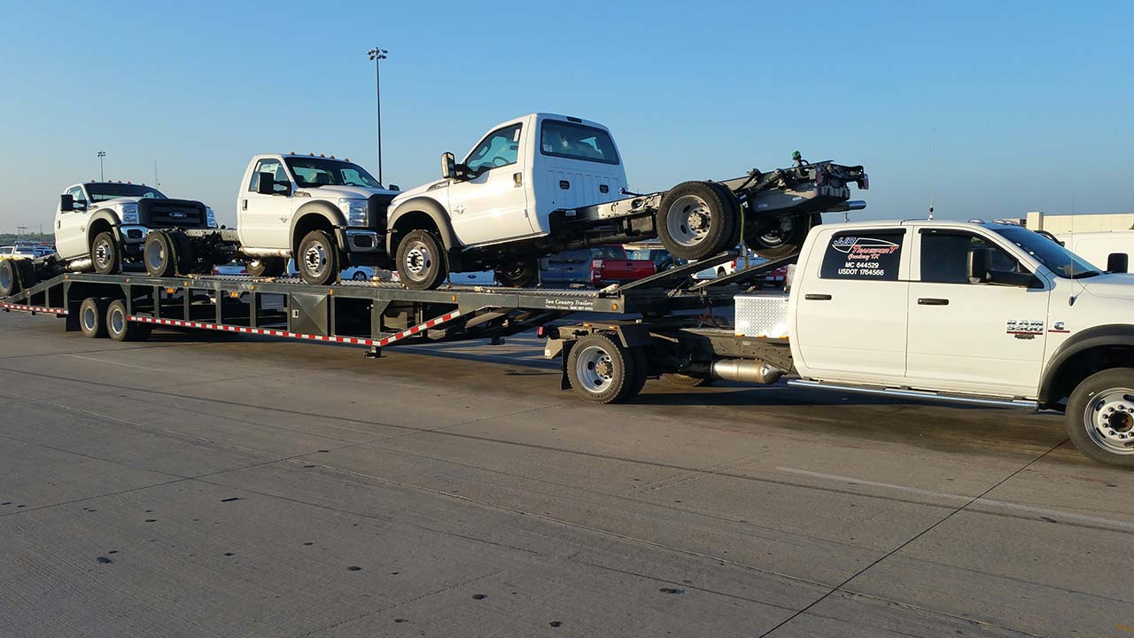 Cars In Phoenix >> 53 foot Lo-Pro 4 Car Hauler - SunCountry Trailers