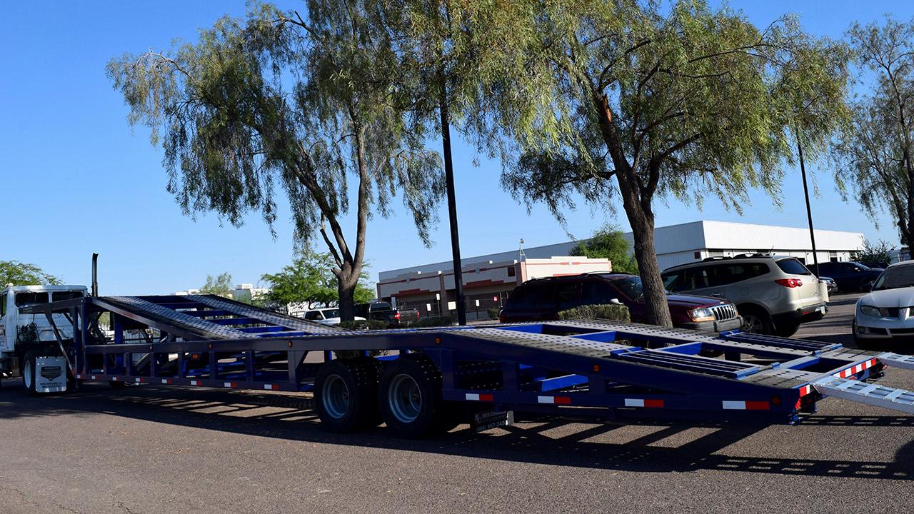 53 Foot Drop Deck 4 Car Hauler Suncountry Trailers