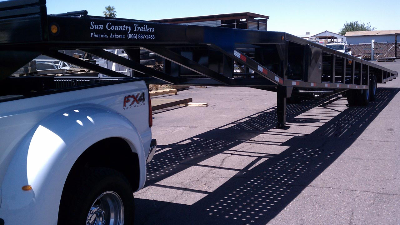 53 Or 48 Foot Wedge 4 Car Hauler Suncountry Trailers