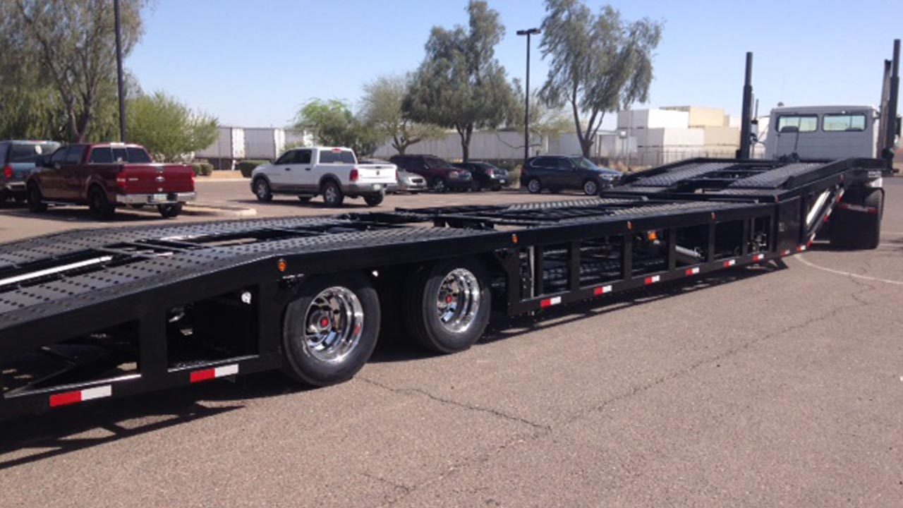 53 foot next generation modified 4 car hauler