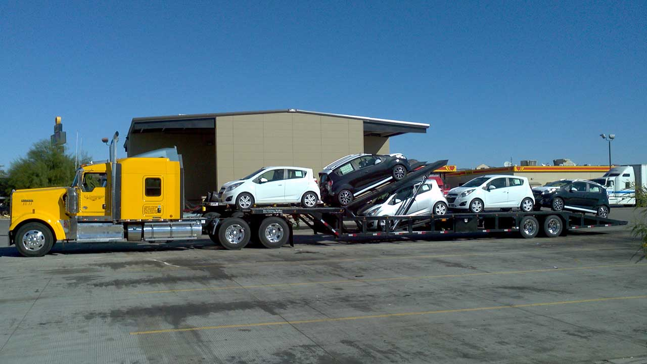 SunCountry Trailers - 4 Car Hauler Standard and Custom Trailers